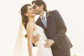 Gabriela e Renato | Para o Grande Dia ela usou um vestido bordado pela avó