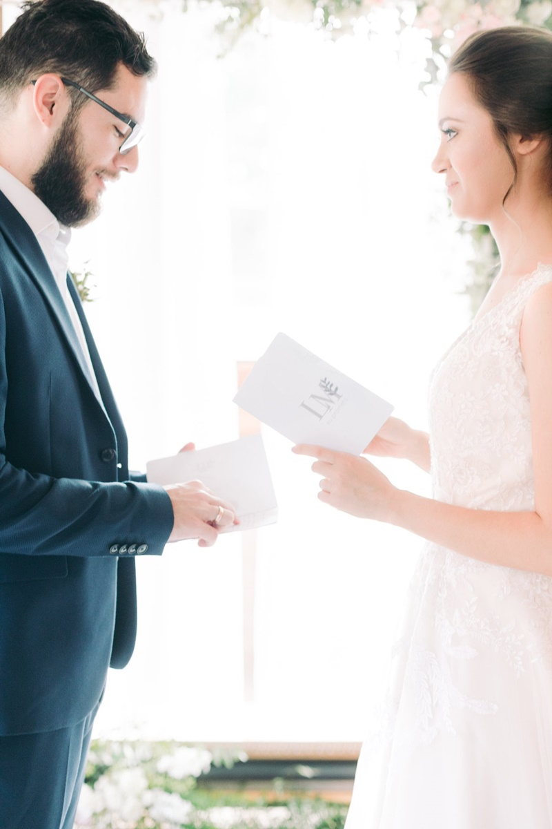 caderninho para votos de casamento