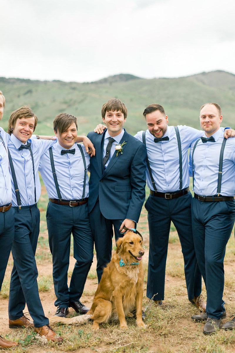 gravatas para padrinhos