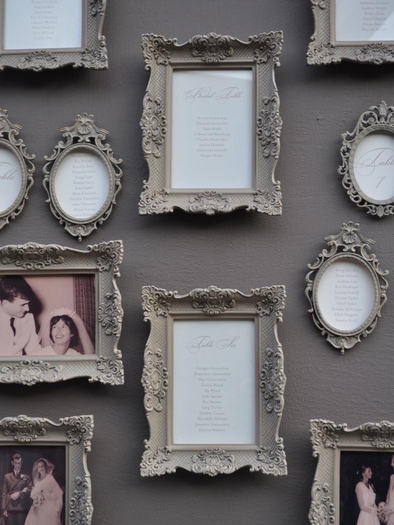 porta-retratos homenagem casamento