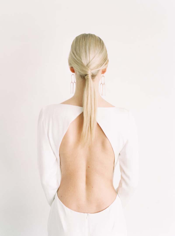 penteado para noiva com rabo de cavalo