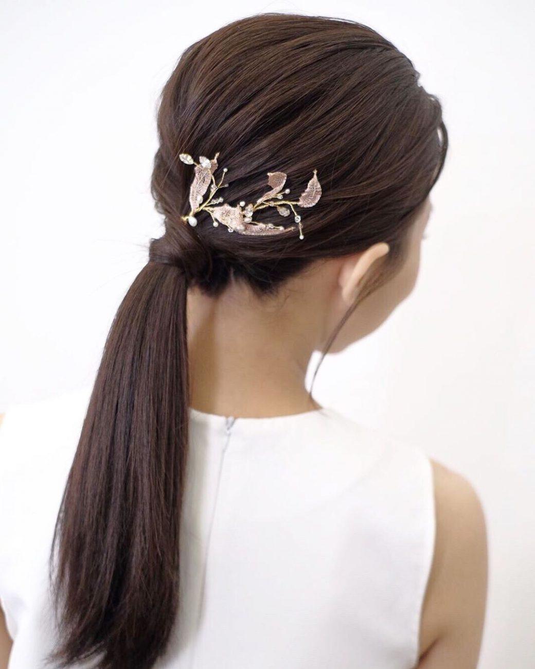 penteados para noiva rabo de cavalo