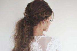 Penteados para noiva com rabo de cavalo | Dicas e 20 inspirações