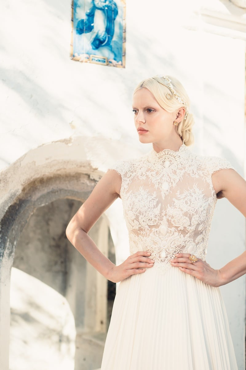 vestido de noiva decote halter