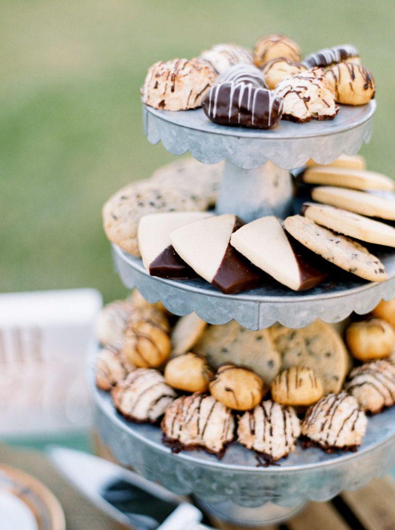 biscoitos e profiteroles