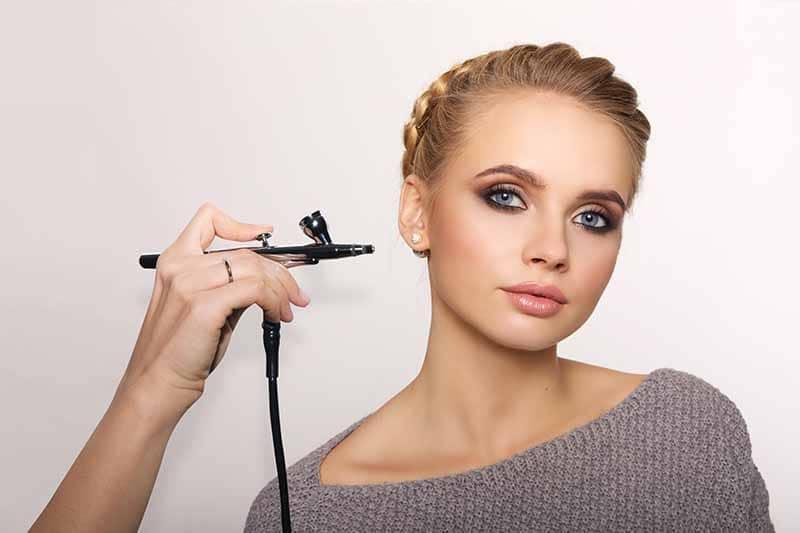 maquiagem airbrush