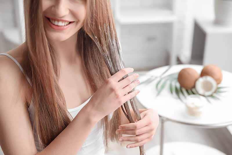 produtos naturais para hidratar o cabelo