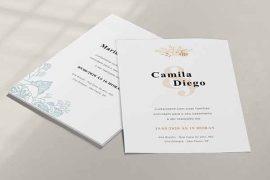 Convite de casamento para editar e baixar gratuitamente se o seu casamento foi adiado!