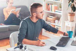 5 dicas para evitar conflitos entre casais durante o Home Office