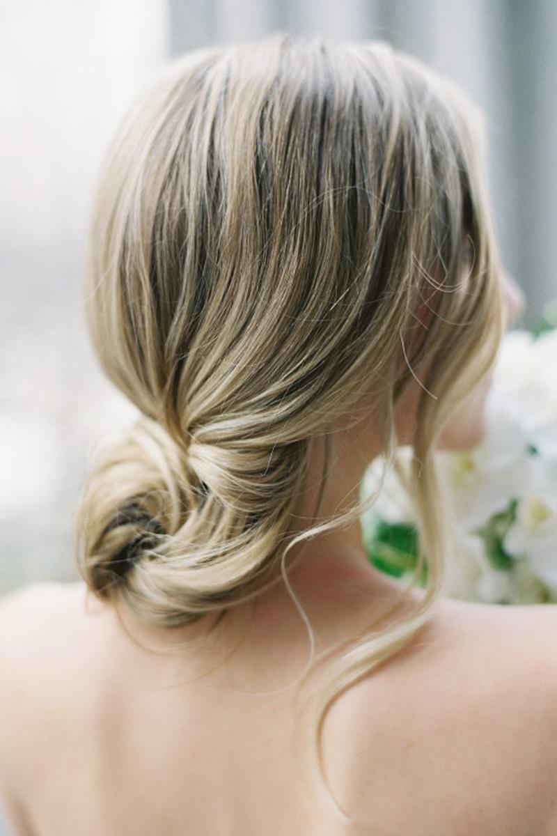 Penteados para madrinhas de casamento de cabelo longo