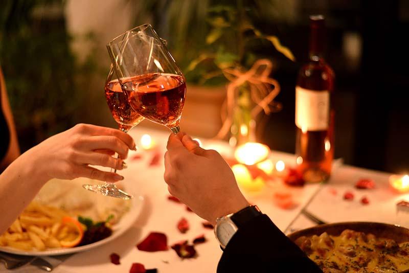 Dia dos namorados restaurantes