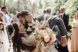 Casamento Marcela Taís e Samuel | Cerimônia com estilo folk é inspiradora
