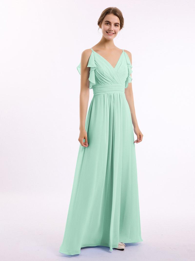 vestido verde menta para madrinhas