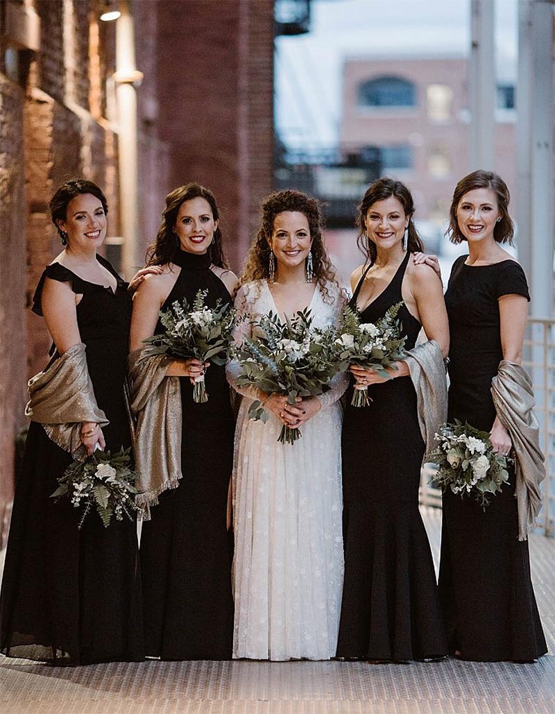 vestido para festa de casamento a noite
