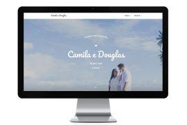 Os 10 layouts para site de casamento favoritos dos noivos