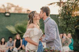 Poliana e Gustavo | Um mini wedding romântico e boho para te inspirar