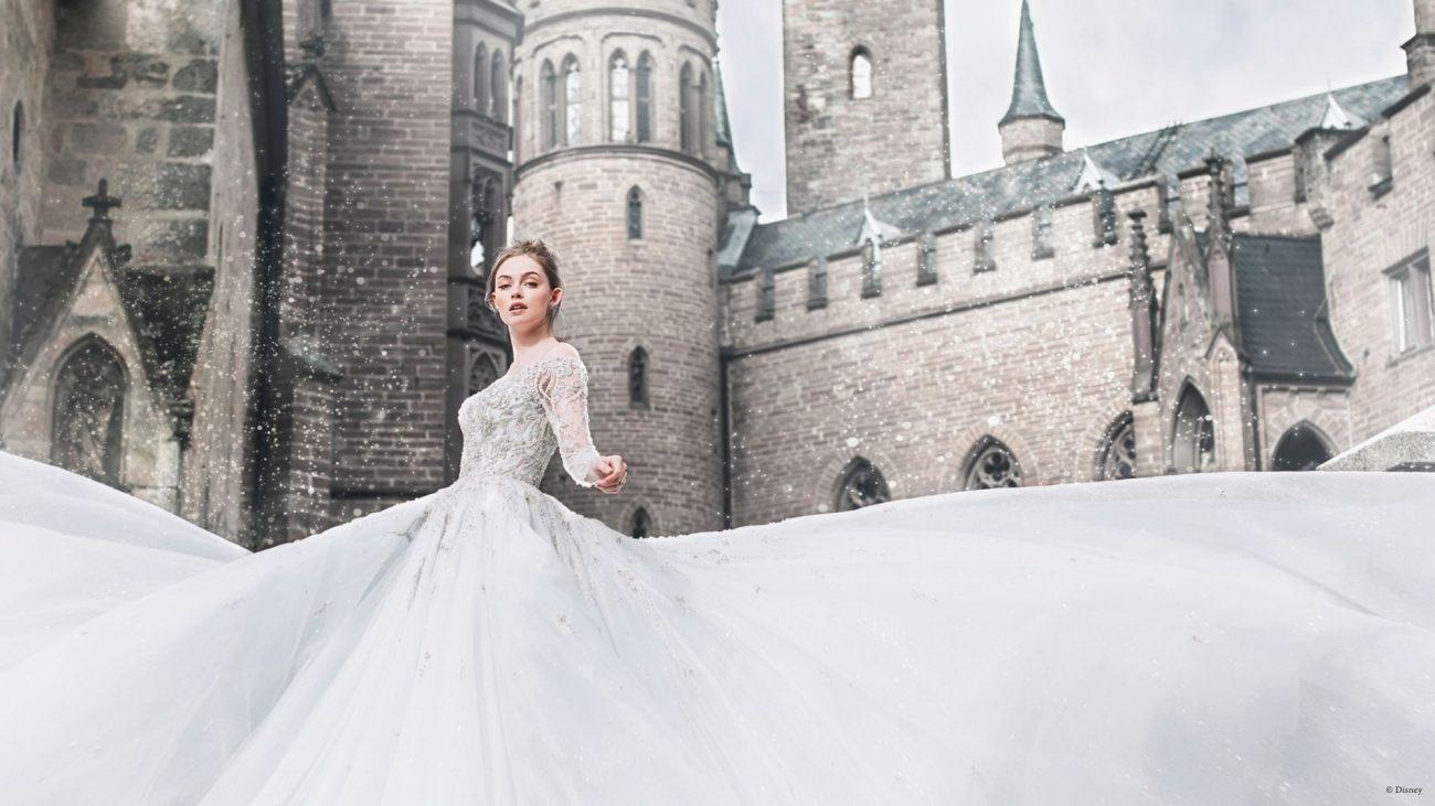 vestido de noiva disney