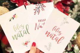 Papelaria de Natal para download grátis