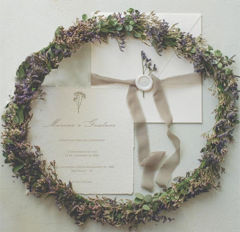 tendencias convite casamento 2021